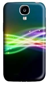 Line Light Rainbow Custom Samsung Galaxy S4 I9500 Case Cover ¨C Polycarbonate