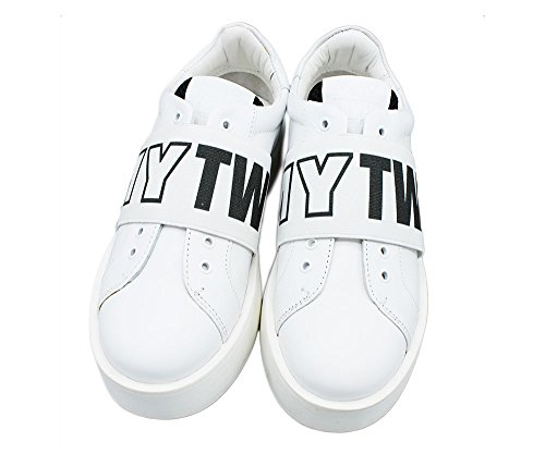 Delle Bianco Bianco Twin Set Donne Formatori 6IHxEvqwp4