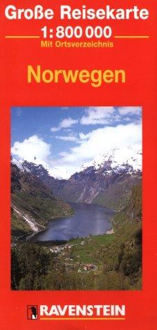 Norwegen: 1:800000 (Ravenstein International Maps) (Englisch) Landkarte – Folded Map, 1986 RM MAIRDUMONT 3876608589 387660858920110925