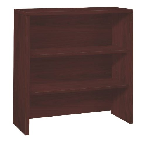 HON 10500 Series Bookcase Hutch, 36 W by 14-5/8 D by 37-1/8 H, Mahogany