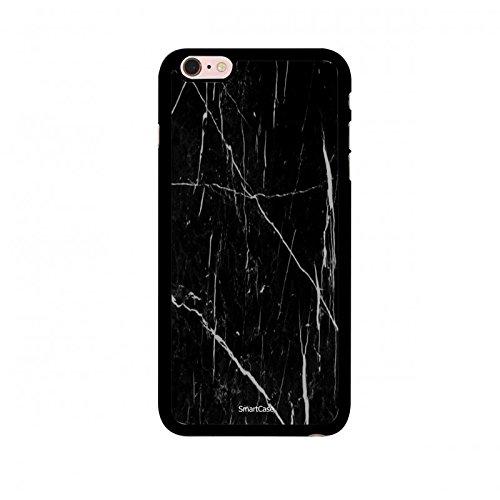 Coque + Verre Trempé pour iPhone 6/6S SmartCase® Motif marbre noir et blanc