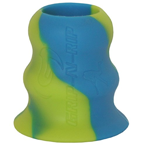 Grip-N-Rip II Softball Bat Taper, Electric Blue/Neon Green