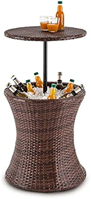 blumfeldt Beerboy Mesa de jardín Enfriador Bebidas por Hielo ...