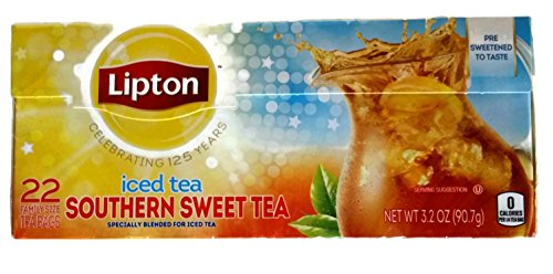 Lipton Southern Sweet Count Family