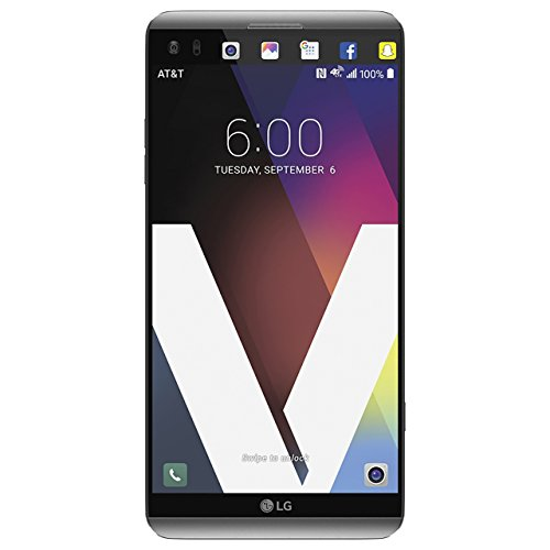 LG V20 64GB H910A Unlocked GSM 4G LTE Quad-Core Phone w/ Dual Rear Camera (16MP+8MP) - Silver (Renewed)