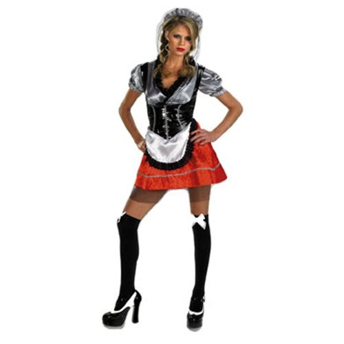 Tavern Maid Adult Costumes - Adult's Sexy Tavern Tease Barmaid Beer Girl Costume Large