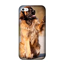 Iphone 6 Plus/6S Plus Case, [Drop Protection] Scratch Resistant Perfect-Fit Shock Absorbing Non-Slip Cute Leonberger Dog Pet Hard Armor Case