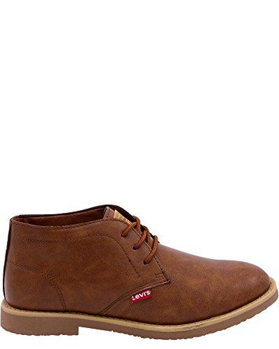 Levis Hombres Sonomo Mid Burnish Shoe Tan