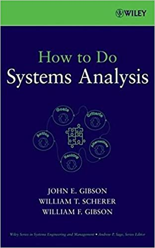 How to do systems analysis john e gibson william t scherer how to do systems analysis 1st edition fandeluxe Gallery
