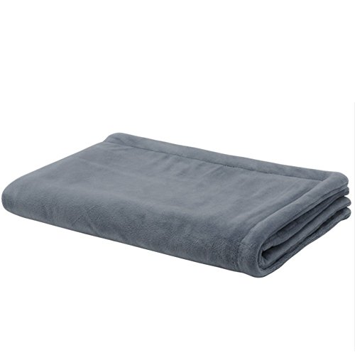 WANGXN Throw Blanket Heated Blue Machine Washable Moisture Proof With 3...