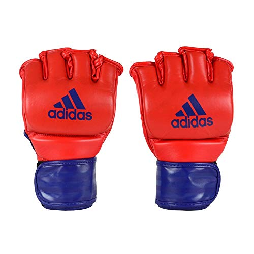 ADIDAS LUVA FIGHT MMA vermelho/azul, G