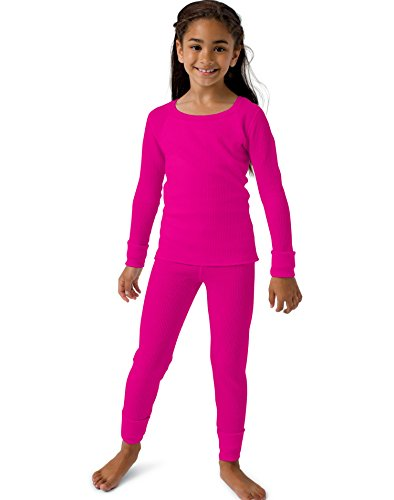 Hanes Girls` X-Temp™ Thermal Set,25454,S,Hot - Outlet Hanes Store