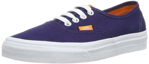 Vans U AUTHENTIC (WASHED) BLACK VVOE4JT Unisex-Erwachsene Sneaker Blau ((Pop) patriot b)