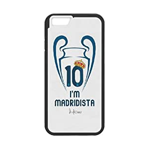 Generic Real Madrid James TPU Cell Phone Cover Case for iPhone 6 Plus,6s 5.5 Inch AS1W8449260-Send tempered glass screen protector
