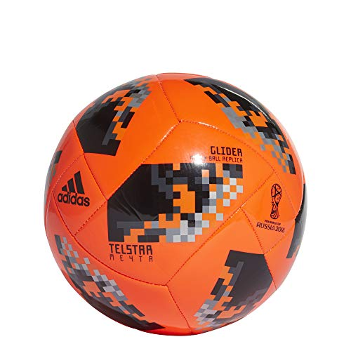low priced 09f00 6d008 Buy Adidas Mens Wc 18 Ball Afa Football(5, White and Black) Online at Low  Prices in India - Amazon.in