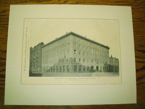 Stable of Kenny & Clark, West Chester Park and Newbury Street, Boston, - Newbury Ma Boston Street