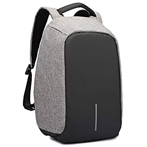Anti-theft Unisex Laptop Notebook Backpack with USB Charger Port BD-BAG-BT