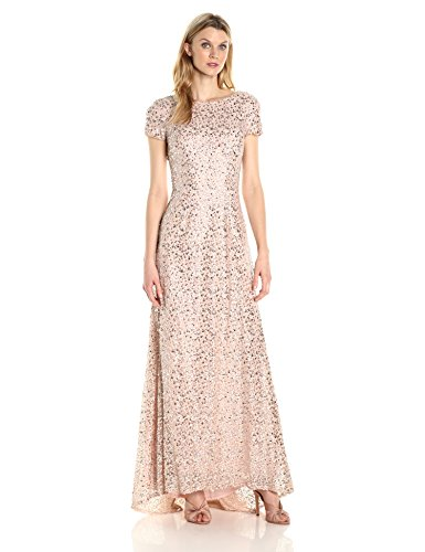 fully sequined dress - 1