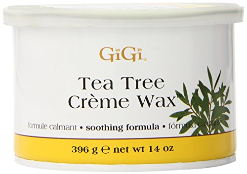GiGi Tea Tree Creme cire, 14 onces