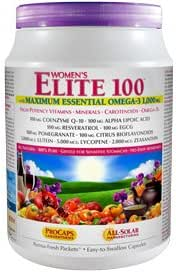 Andrew Lessman Multivitamin - Women's Elite-100 with Maximum Essential Omega-3 1000 mg, 120 Packets