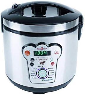 BUYGIFTS Robot | Robot de Cocina | Robot Cocina 14 menús programable 6 litros Cheff Supreme 900W: Amazon.es