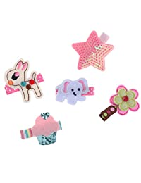 MonkeyJack Multi-color Kid Baby Flower Bowknot Hair Clip Hair Accessories Pin Girls Barrette Gift Set