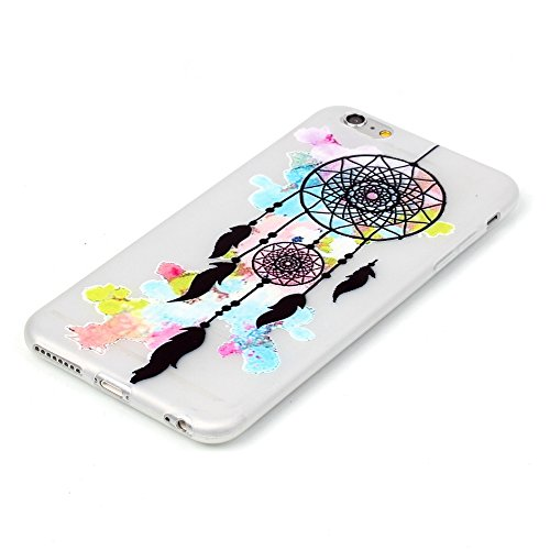 iPhone 6 Plus / 6S Plus (5,5 Zoll) Blu-ray-TPU Housse silicone , Meet de Coque pour Apple iPhone 6 Plus / 6S Plus (5,5 Zoll) Soft TPU Doux Silicone / Bumper Case /téléphone portable Case / Doux Housse