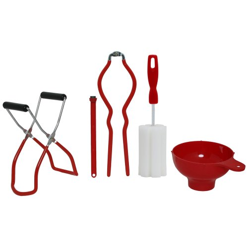 Five-Piece Home Canning Kit by VICTORIO VKP1041