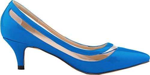 bleu femme ciel Compensées CFP Sandales qzw06g