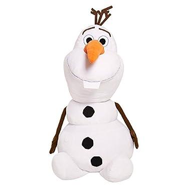 """Disney Frozen Olaf Super Jumbo Plush 48"""" 4' Tall Stuffed Snowman Display"""