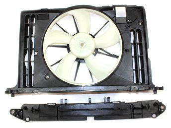 (TYC 622130 Toyota Replacement Radiator/Condenser Cooling Fan Assembly)