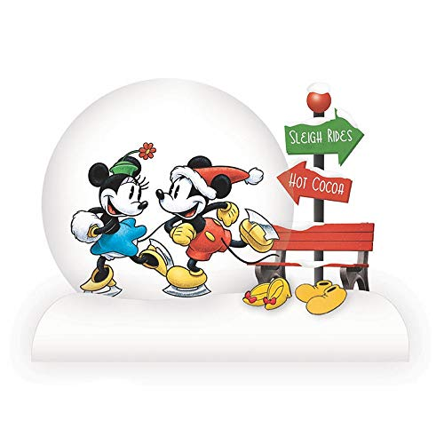 Department 56 Disney Classic Brands Mickey and Minnie Waterball 4.53