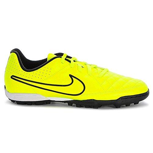 Nike Jr Tiempo Rio II TF - Zapatillas de fútbol unisex Amarillo