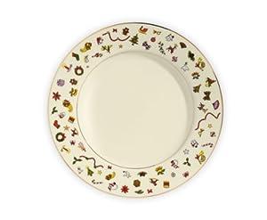 tait tait taitu tait noel dinner plate 26 cm dinner plates. Black Bedroom Furniture Sets. Home Design Ideas