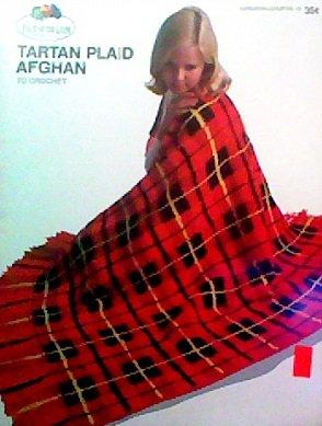 Plaid Crochet Afghan - Tartan Plaid Afghan to Crochet