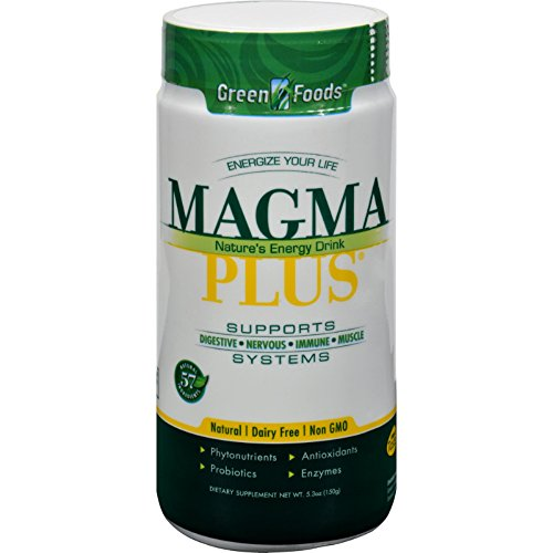 (2Pack! Green Foods Magma Plus Powder - 5.3)