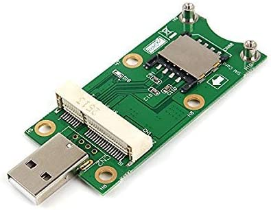 LeHang Mini PCI-E a USB2.0 Adapter Test 3G / 4G WWAN ...