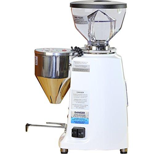 Mazzer Mini Electronic Type A Espresso Coffee Grinder - White