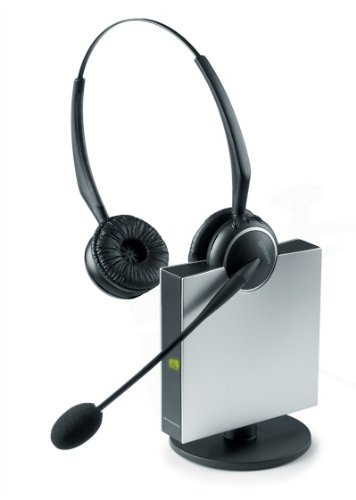 Jabra GN9125 Duo Flex-Boom Wireless Headset for Deskphone by Jabra