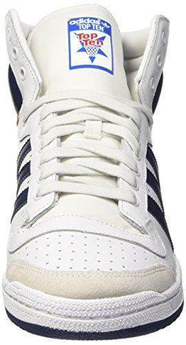 adidas Top Ten Hi, Baskets Mode Mixte Adulte