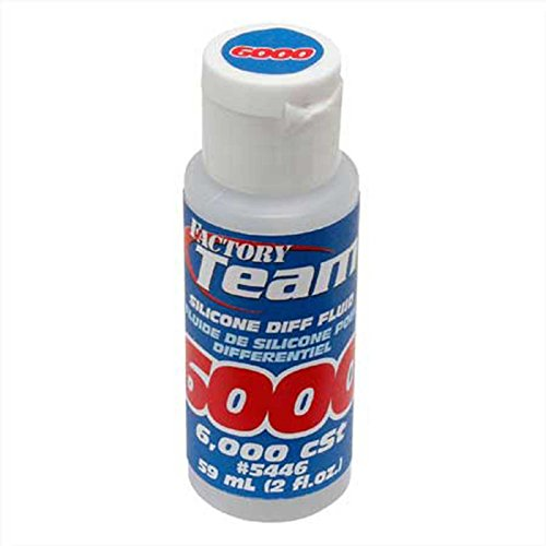 Diff Fluid - ASSOCIATED 5446 FT Silicone Diff Fluid 6000cST
