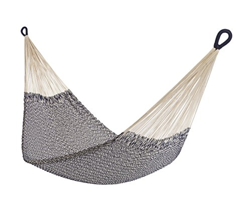 Yellow Leaf Hammocks MT Hammock, Montauk - 100% hand-woven with hand-dyed Cotton rope Maximum capacity: 400 lbs Optimal hanging distance: 9-12 ft - patio-furniture, patio, hammocks - 41KWDsBnHkL -