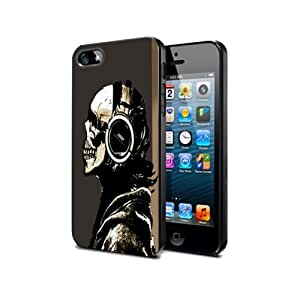 Case Cover Silicone Iphone 4 4s Skull Ghosts Sk04 Halloween Protection Design