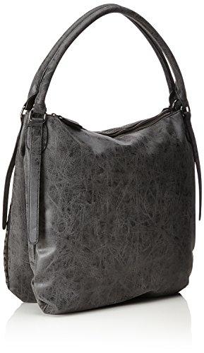 s.Oliver (Bags) 39.711.94.6046 - Borse a tracolla Donna, Schwarz (Black/schwarz), 6x37x35.5 cm (B x H T)
