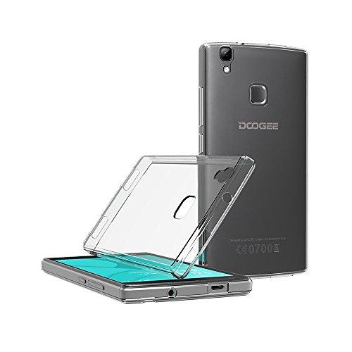 AICEK Funda Doogee X5 MAX / X5 MAX Pro, Doogee X5 MAX / X5 MAX Pro Funda Transparente Gel Silicona Doogee X5 MAX/ X5 MAX Pro Premium Carcasa para ...