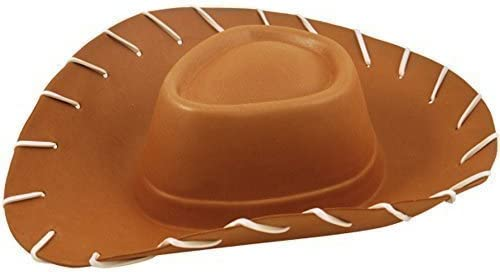 Adults EVA Brown Cowboy Hat Toy Story Fancy Dress Costume Accessory by Henbrandt