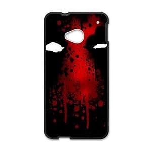 HTC One M7 Phone Case Black Deadpool ESTY7806920