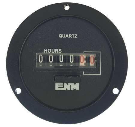 Electromechanical Hour Meter, Resettable
