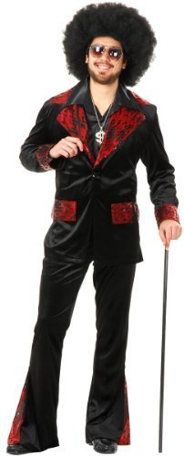 (Whiskey River Mac Daddy Pimp Suit Costume)
