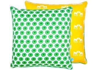 Blafre - Botella infantil ciervo cojín amarillo/verde ...